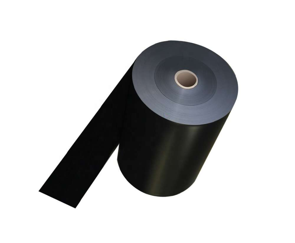 <strong>Black Volume Conductive HIPS Plastic Sheet Roll For Thermoforming Electronic Tray</strong>